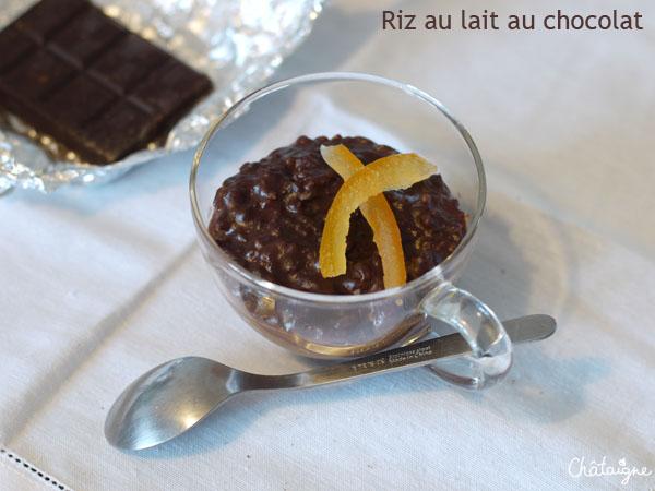 riz au lait au chocolat