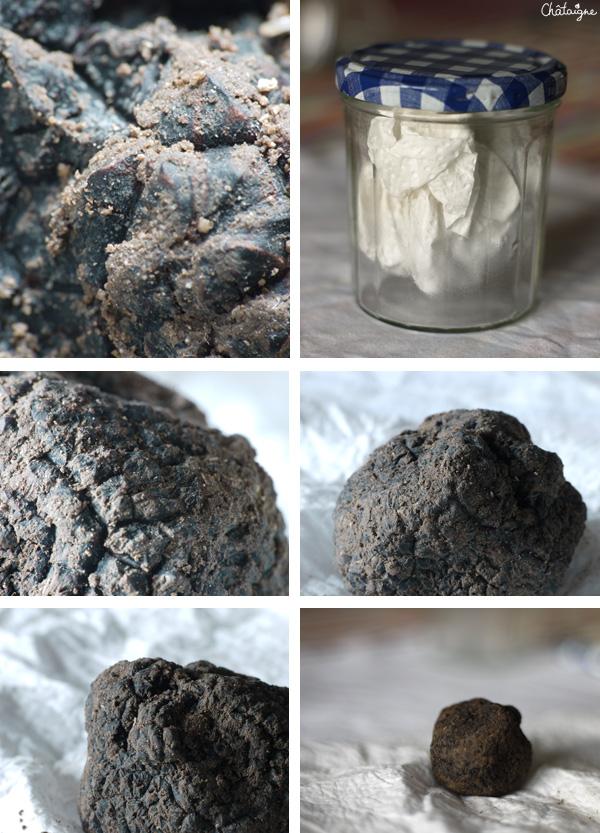 oeufs cocotte à la truffe