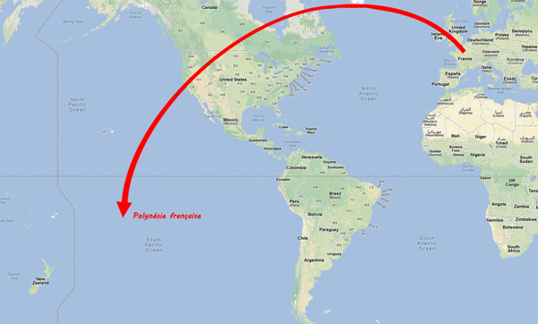 Ou Se Trouve Tahiti Sur La Carte Du Monde | popkensburg