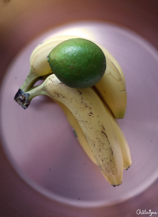 confiture bananes-citron vert