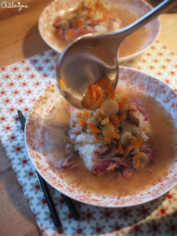 soupe boeuf et riz 2