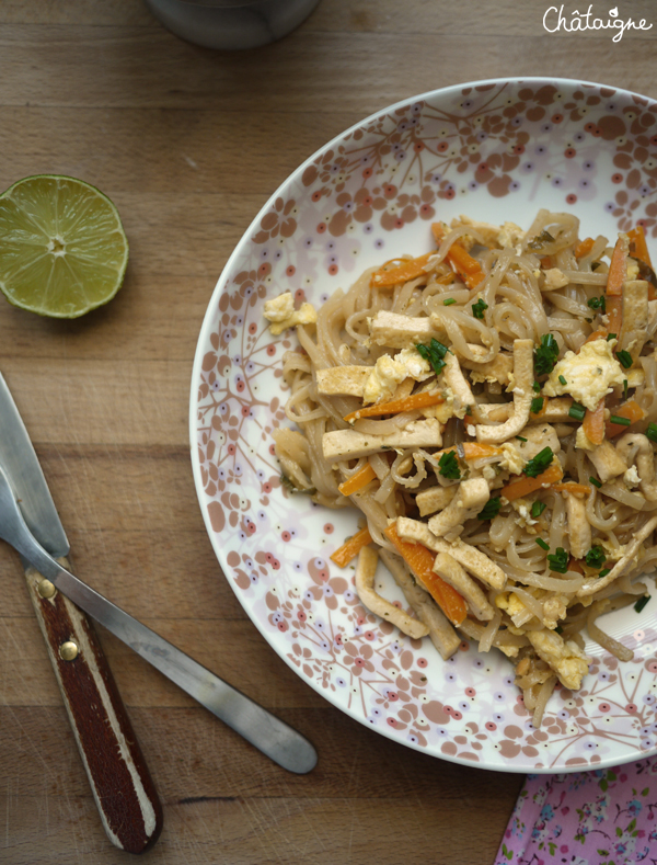 pad thai végétarien