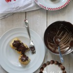 Profiteroles aux marrons