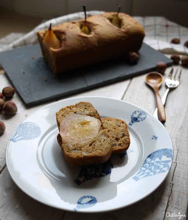 cake épicé aux poires (7)