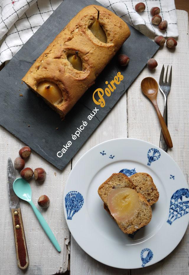 cake épicé aux poires (9)