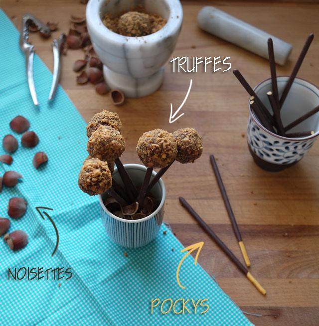 truffes praline et pocky (8)