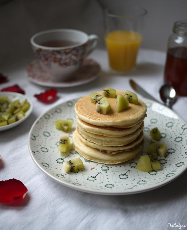 pancakes japonais, faciles et moelleux