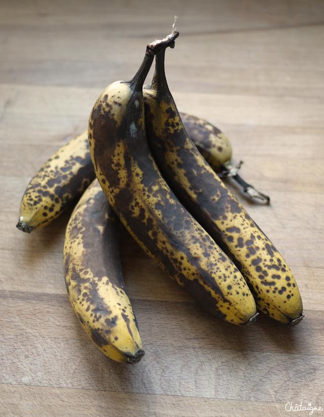 Gâteau bananes-chocolat