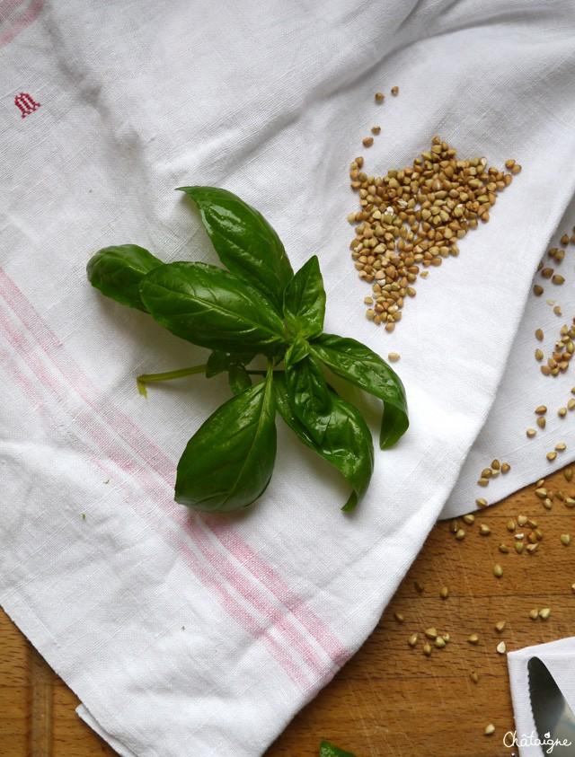 Bol sarrasin, poivrons verts et olives noires (3)