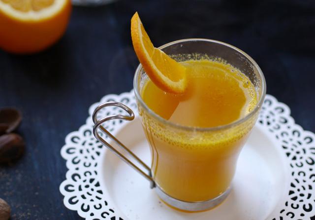 [C'est bientôt Noël] Jus d'oranges chaud aux épices