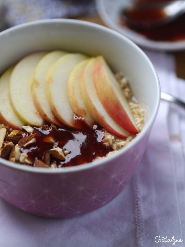 Porridge aux pommes (3)