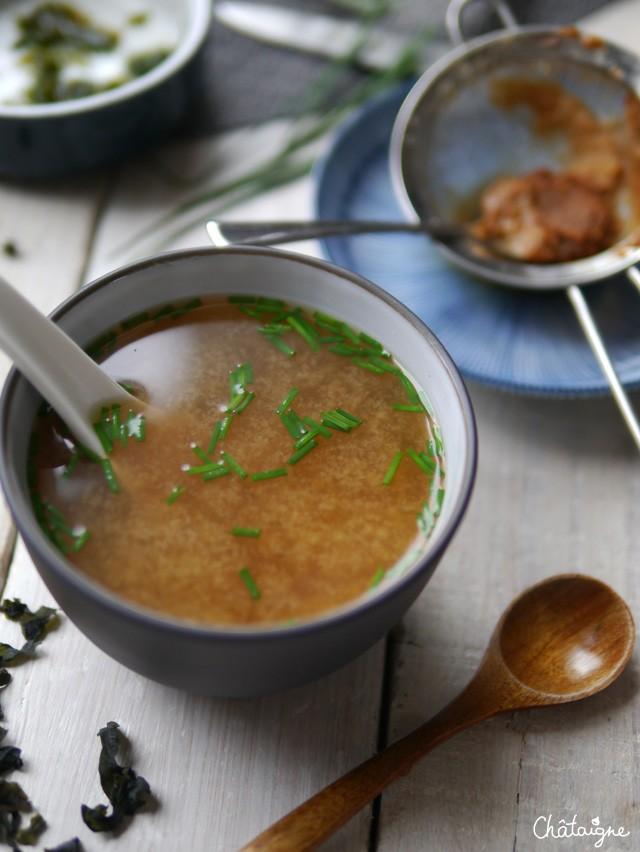 La soupe miso blog de ch taigne - Soupe miso ingredient ...
