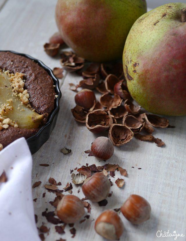 Gâteaux poire et chocolat - Blog de Châtaigne (4)
