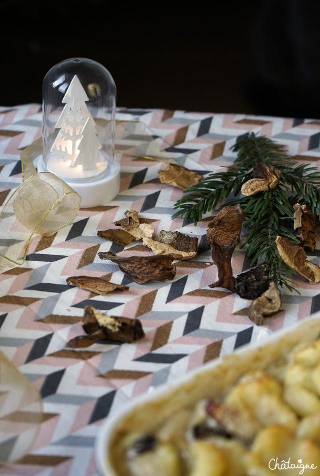 gratin de gnocchis aux cèpes