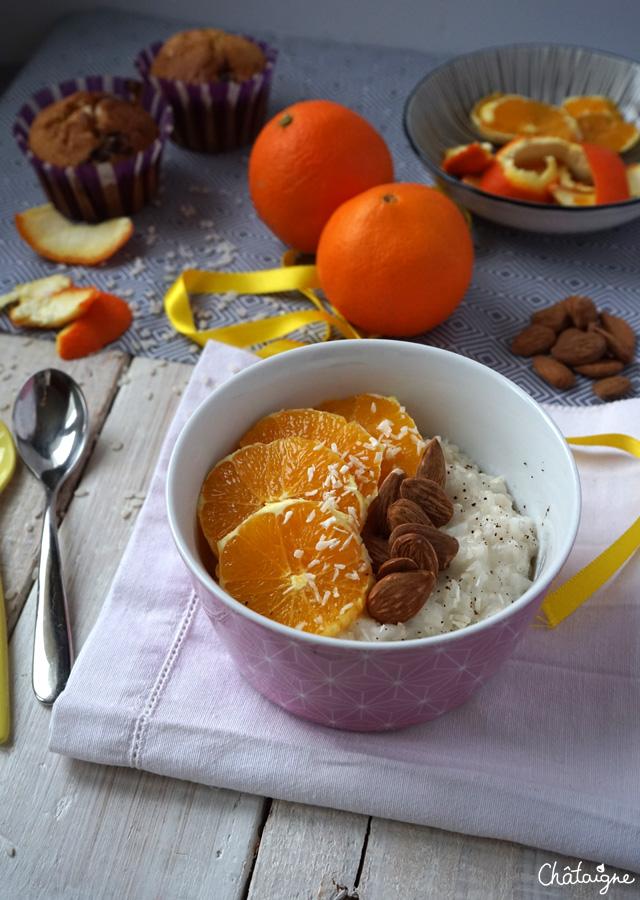 Porridge de riz au lait de coco