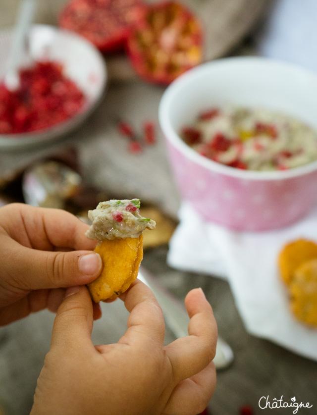 Aubergines au tahin