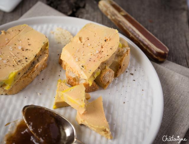 Terrine de foie gras maison