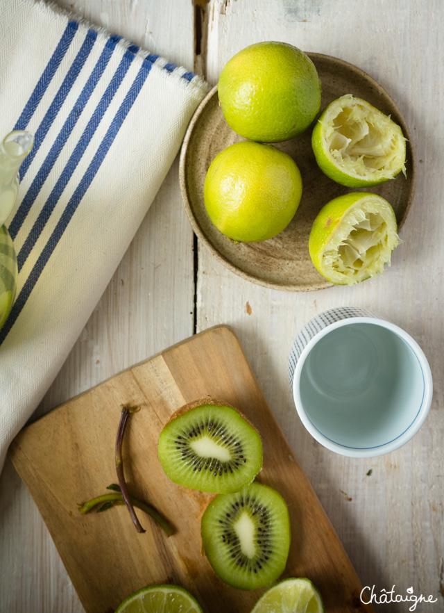 eau detox citron vert kiwi menthe blog de ch taigne. Black Bedroom Furniture Sets. Home Design Ideas