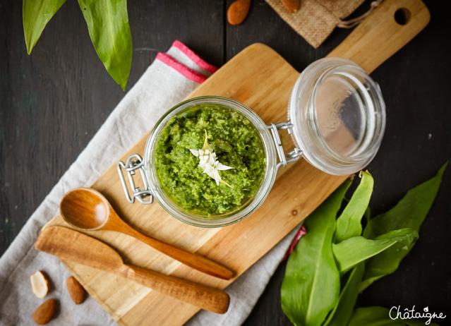 Pesto à l'ail des ours [prêt en 5 minutes]