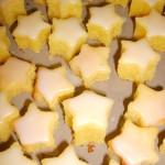 Dentelles au chocolat et étoiles des neiges