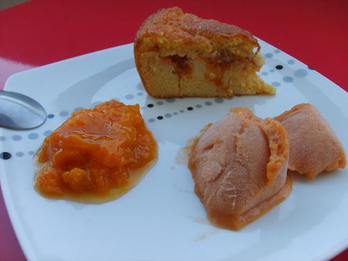 Trilogie de desserts Abricots ou que faire de 2kg d'abricots [abimés]