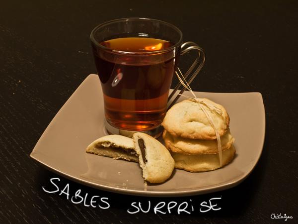 Sablés surprise