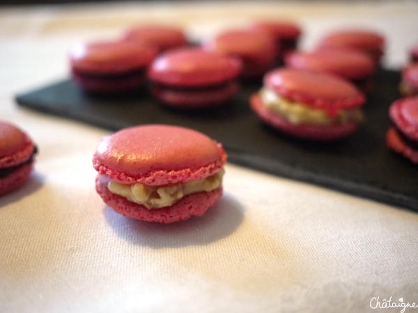 Macarons fruits rouges et Rhum-raisins : LA recette