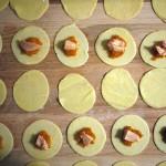 Raviole de foie gras et carottes