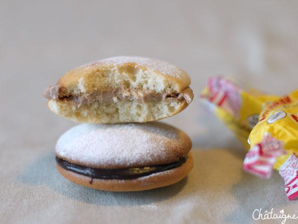 Whoopies Pie aux carambars et Nutella