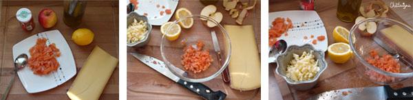Maki de Comté pomme-saumon {Challenge Comté#2}