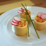 Makis de Comté pomme-saumon