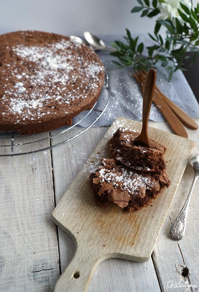 gâteau au chocolat sans beurre