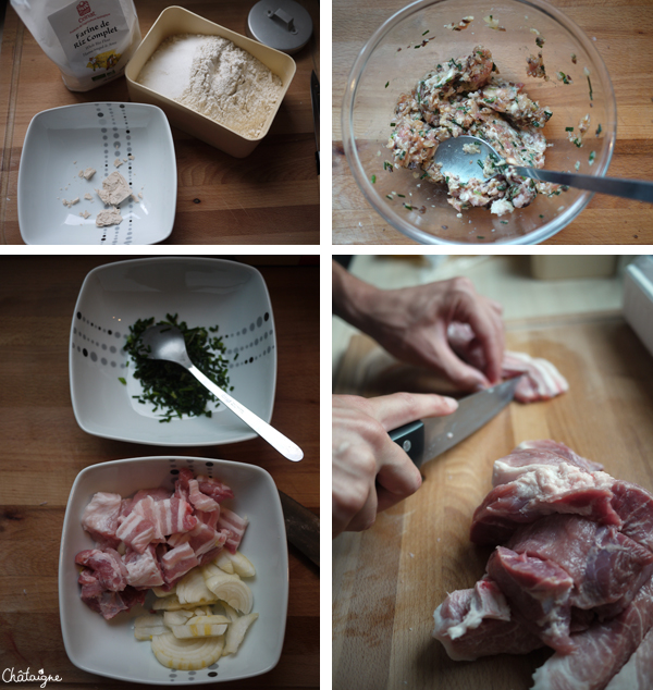 Banh Bao {brioches vapeur au porc}
