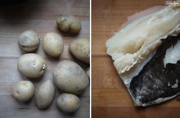 Morue et pommes de terre