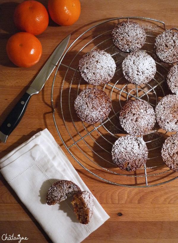 Puddings aux fruits secs
