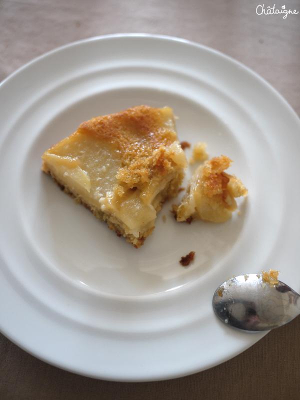 Gâteau tatin aux poires