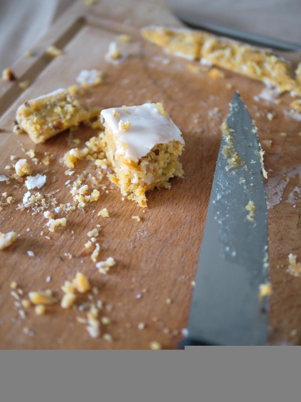 Blondie Carrot-cake, pour fondre de plaisir !