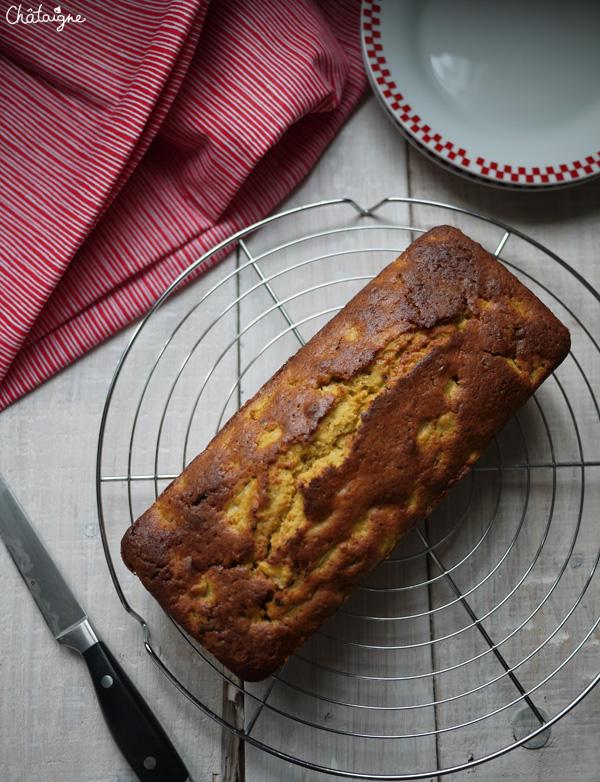 Cake poires-chocolat