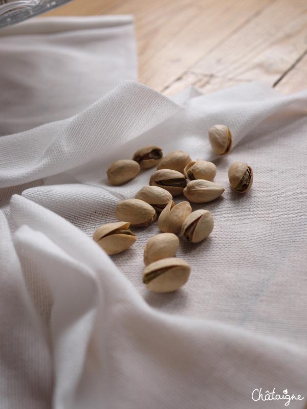 Financiers à la pistache et aux graines de pavot