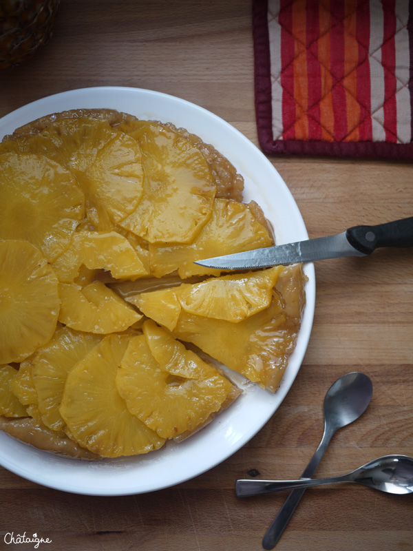 Tatin d'ananas