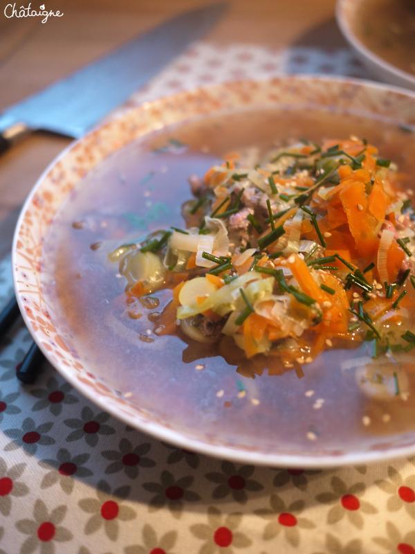 soupe boeuf et riz 1