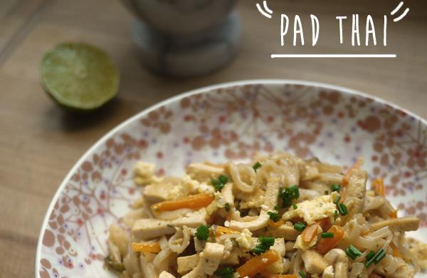 Pad thaï -végétarien-