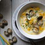 Clam Chowder, soupe aux coques