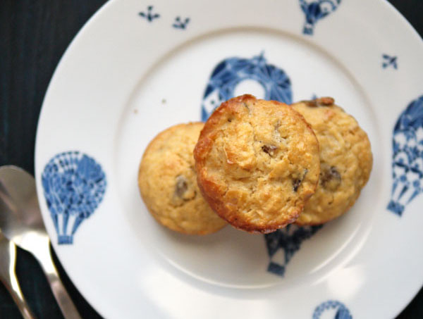 Petits Gâteaux Moelleux Pommes – Châtaignes