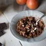 Porridge chocolat-coco