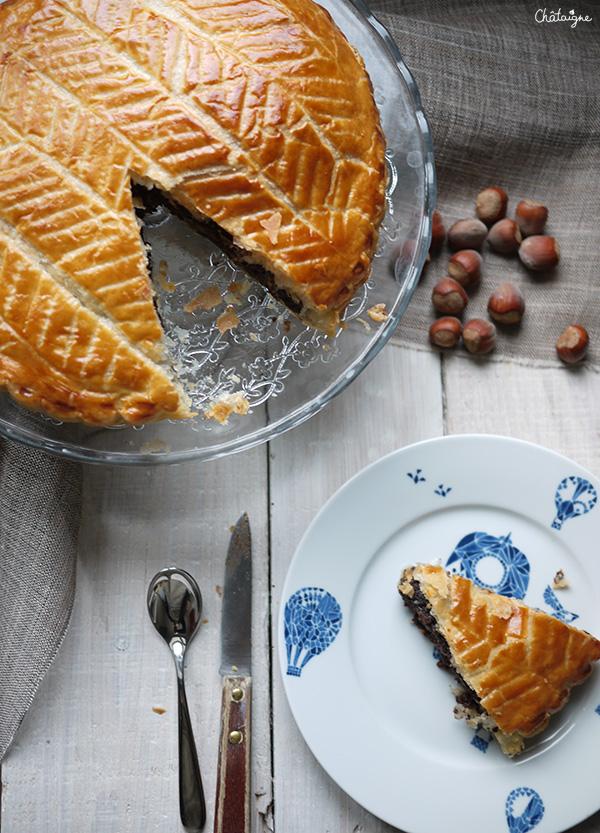 galette des rois chocolat-noisettes 4
