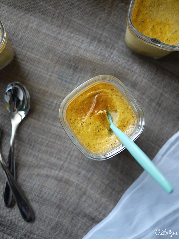 Petits pots de crème à la vanille