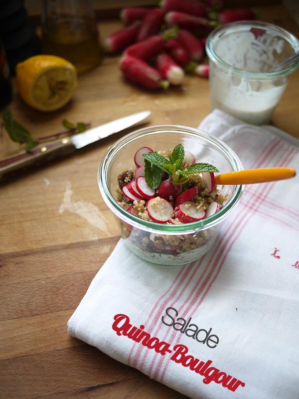salade quinoa-boulgour