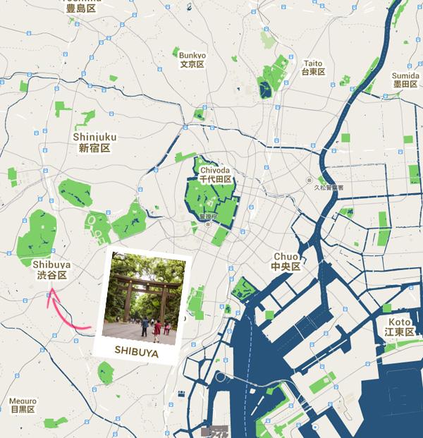 carte shibuya