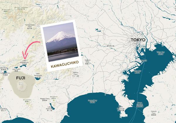 carte kawaguchiko